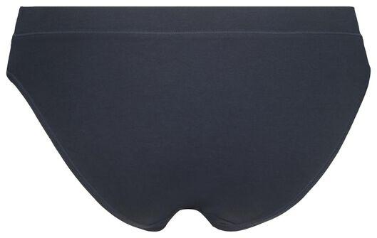 Damen-Slip – Real Lasting Cotton dunkelblau S - 19640791 - HEMA