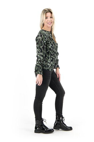 women's top dark green dark green - 1000017989 - hema