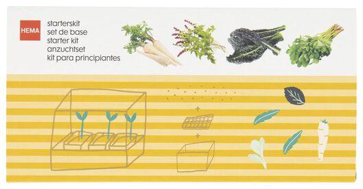 Anzuchtset für vergessene Gemüsesorten - 41810102 - HEMA