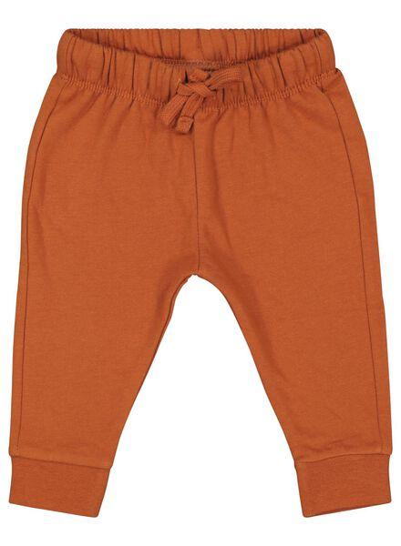 baby sweatpants brown brown - 1000017451 - hema