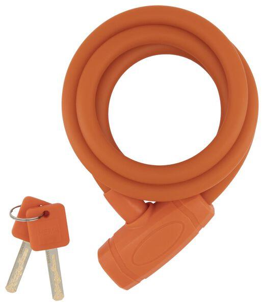 Spiralschloss, 180 cm / Ø 12 mm, rot - 41110030 - HEMA