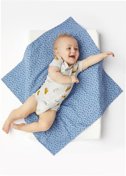 bodysuit organic cotton stretch grey melange grey melange - 1000017808 - hema