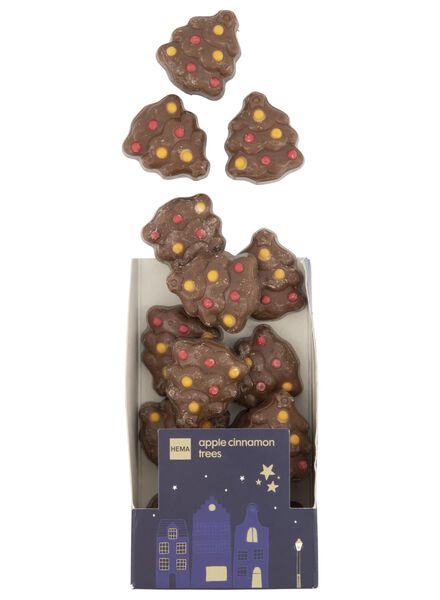 filled chocolate Christmas trees - 10040112 - hema