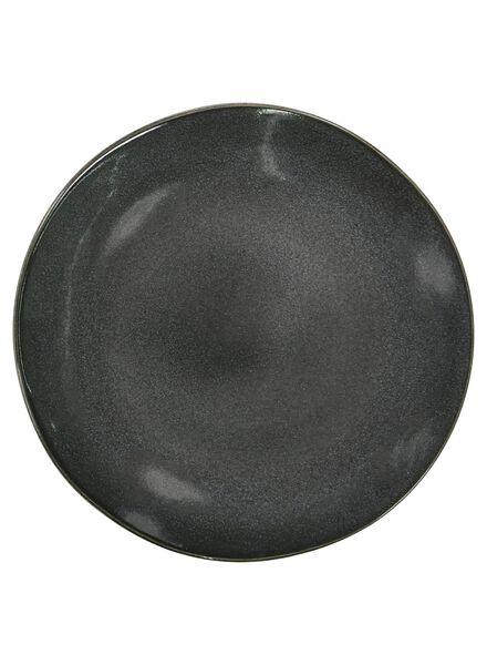 petite assiette - 20 cm - Porto - émail réactif - noir - 9602030 - HEMA