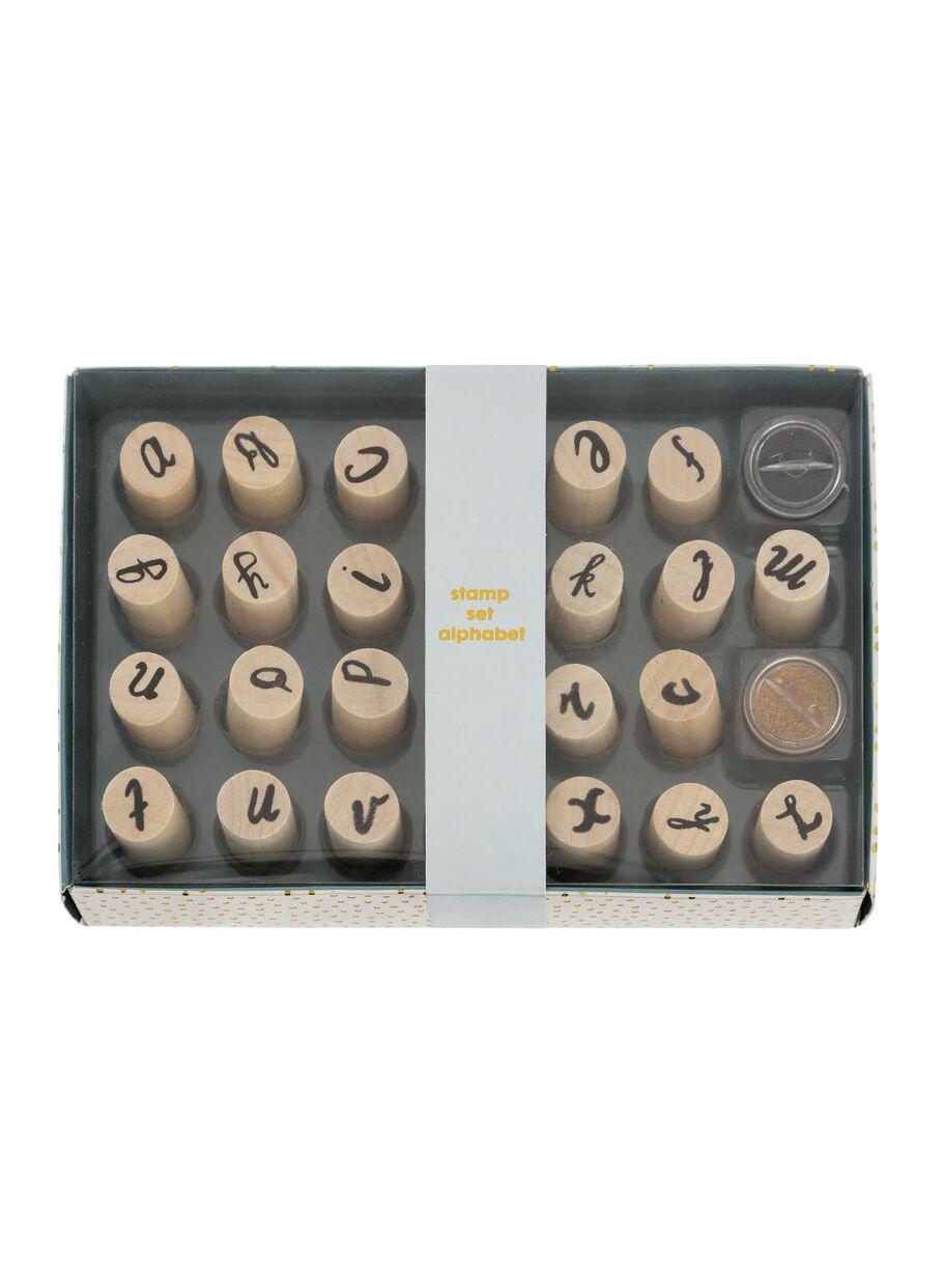 Images Alphabet Stamp Set