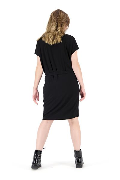 women's dress black black - 1000019942 - hema