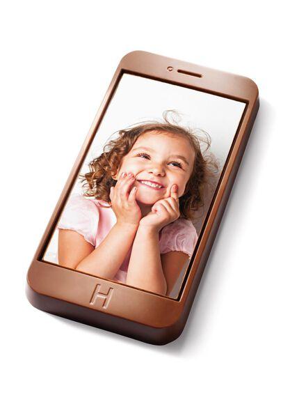 téléphone en chocolat avec photo - 6380004 - HEMA