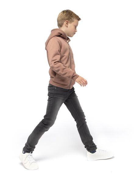 gilet enfant marron marron - 1000016678 - HEMA