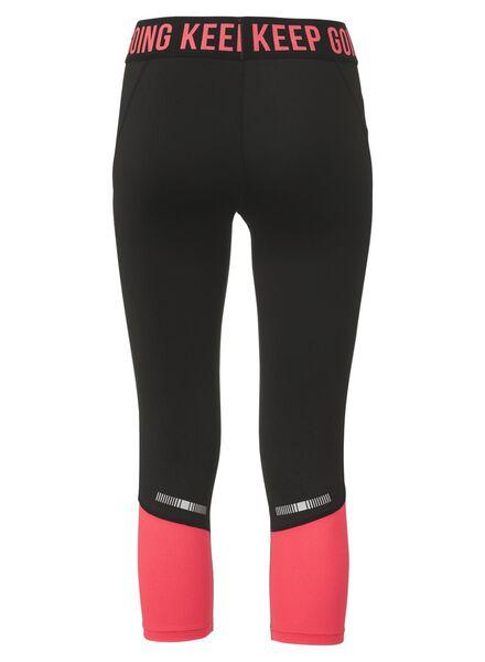 women's running leggings black black - 1000007220 - hema