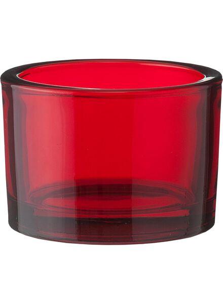 photophore - 5.5x8 cm - rouge - 13311244 - HEMA