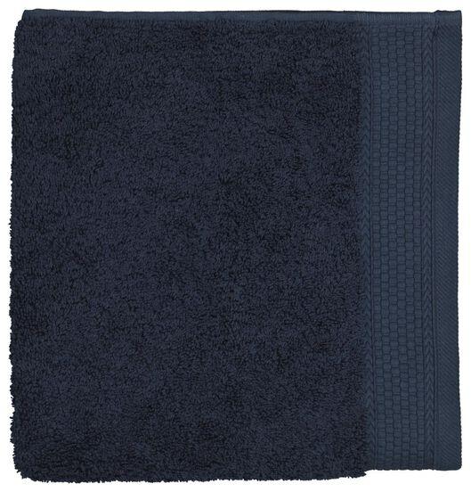 serviette de bain 60x110 hôtel très épaisse - navy donkerblauw serviette 60 x 110 - 5200199 - HEMA