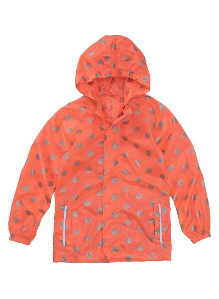Kinder-Regenjacke, faltbar rosa 134/140 - 18421104 - HEMA
