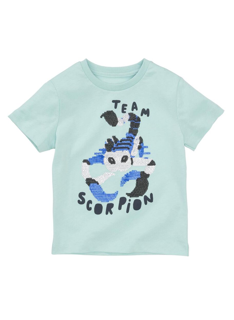 cb1354c80fc0a1 images children's T-shirt blue blue - 1000013111 - hema