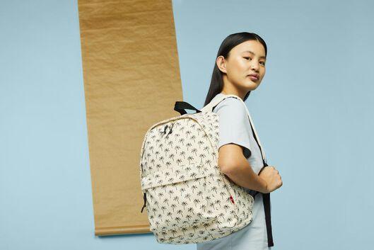 sac à dos école palmiers blanc - 14590210 - HEMA