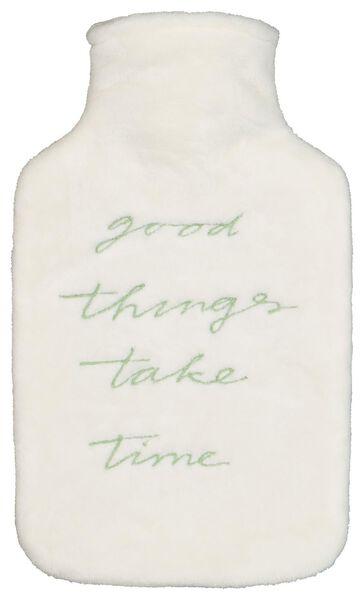 warmwaterkruik - good things take time - 61190044 - HEMA