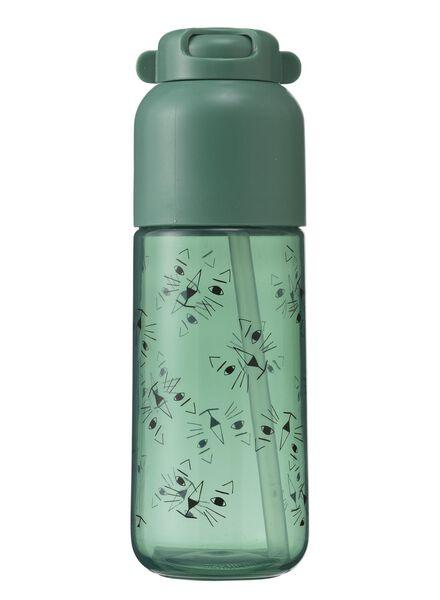 Trinkflasche mit Trinkhalm - 80630563 - HEMA