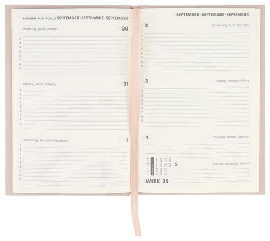 school diary 21/22 pink 18x12.4 - 14500503 - hema