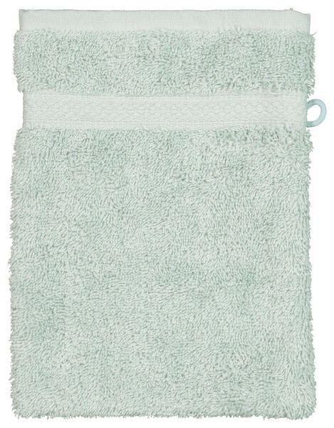 gant de toilette - qualité épaisse - vert poudré vert clair gant de toilette - 5210078 - HEMA