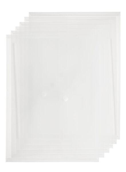 6er-Pack Umschlagmappen - 14822235 - HEMA