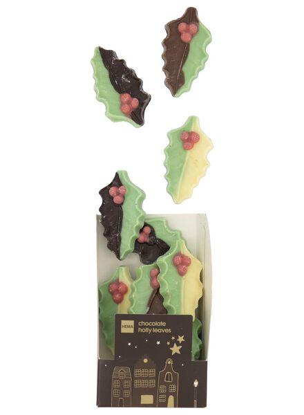 feuilles de houx en chocolat - 175 g - 10040361 - HEMA