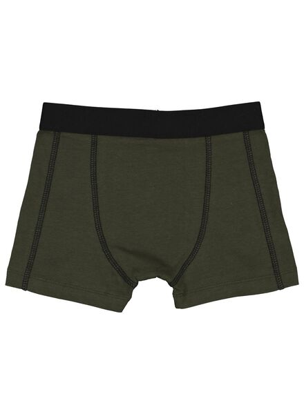 3-pack children's boxers army green army green - 1000014972 - hema