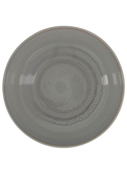 salad bowl 24 cm - helsinki - reactive glaze - light grey - 9602020 - hema