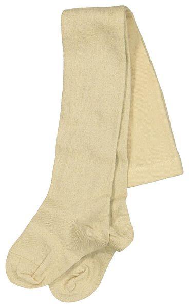 children's leggings with glitter gold gold - 1000020503 - hema