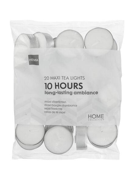 20 bougies d'ambiance avec 10 heures de combustion - 13500063 - HEMA