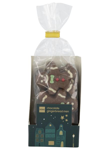 chocolate gingerbread men - 10040036 - hema