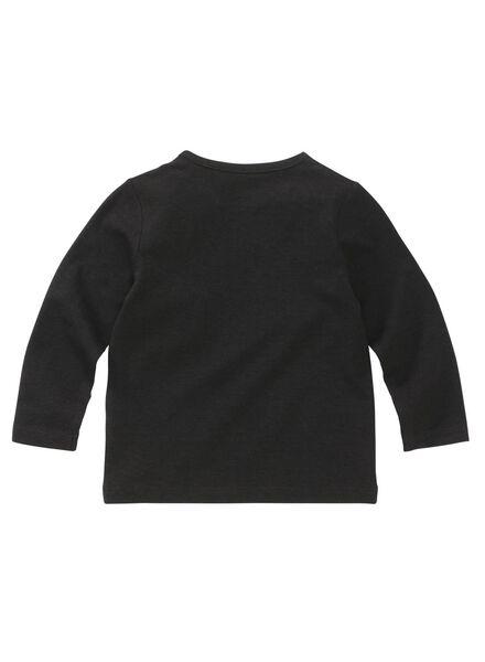 Baby-T-Shirt – Bambus schwarz - 1000011965 - HEMA