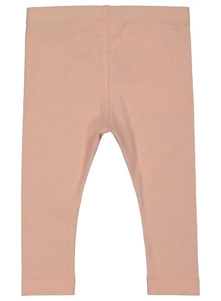 2-pack baby leggings salmon pink salmon pink - 1000017443 - hema