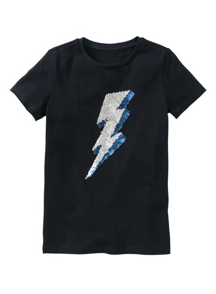 children's T-shirt dark blue dark blue - 1000007326 - hema