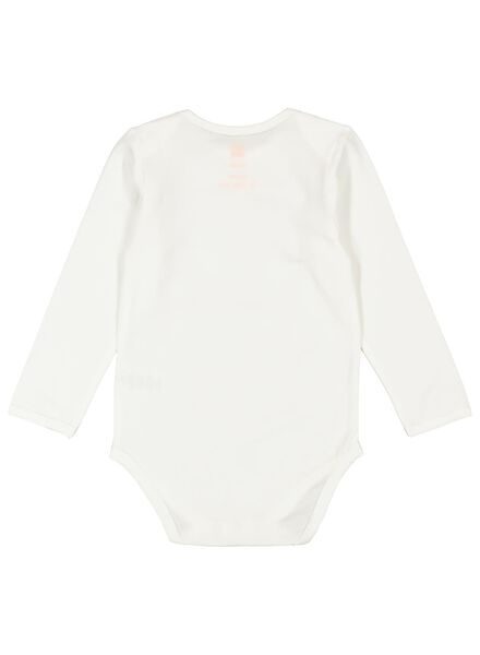 2 bodies avec bambou stretch blanc/noir blanc/noir - 1000014719 - HEMA