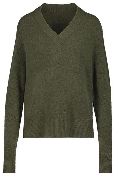 women's sweater olive olive - 1000018049 - hema