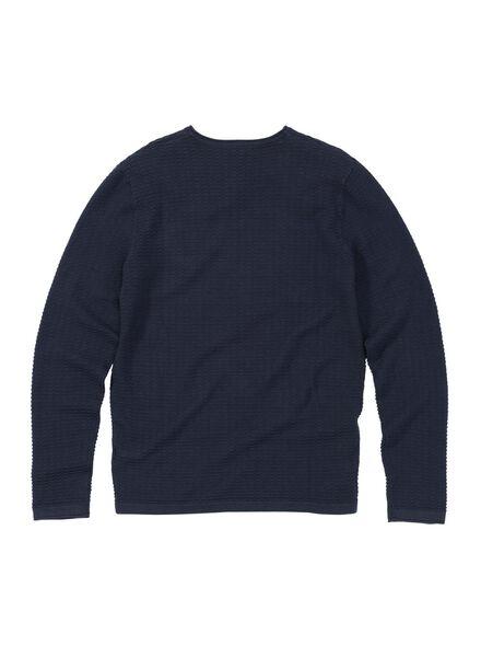men's sweatshirt dark blue dark blue - 1000006151 - hema
