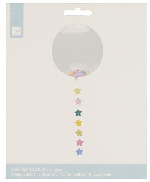 Folienballon mit Girlande - 14200195 - HEMA