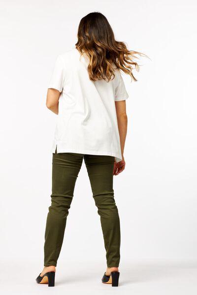 dames t-shirt wit wit - 1000023952 - HEMA