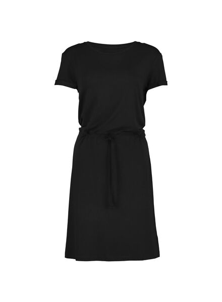 women's dress black black - 1000013840 - hema