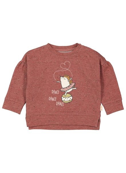 baby sweater dark red dark red - 1000017297 - hema