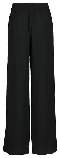 women's trousers black black - 1000019416 - hema
