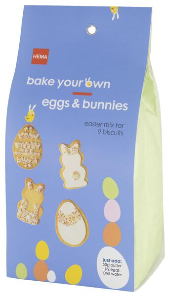 baking mix for 9 Easter cookies - 10930013 - hema
