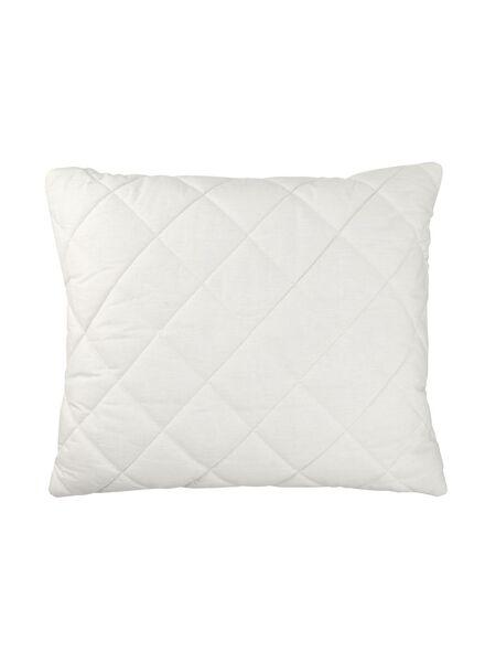 oreiller - laine - fermeté medium - position dos et côté - 5511889 - HEMA