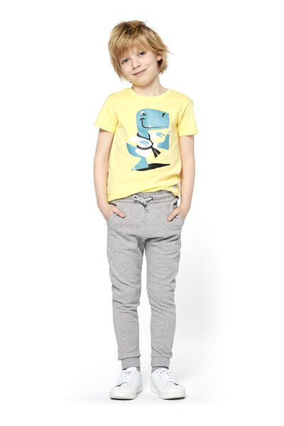 children's T-shirt yellow yellow - 1000017711 - hema