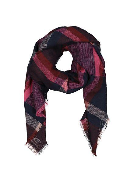 women's scarf chequered 120x120 - 16450518 - hema