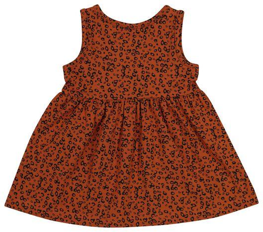 Baby-Kleid, ärmellos, Biobaumwolle braun braun - 1000019721 - HEMA