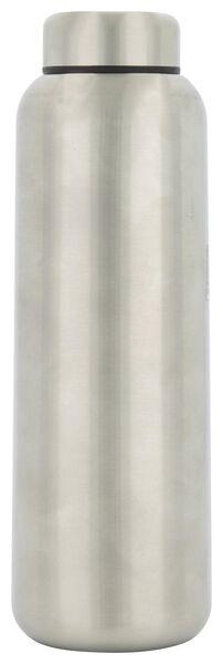 bouteille argentée double paroi inox 450ml - 80660001 - HEMA