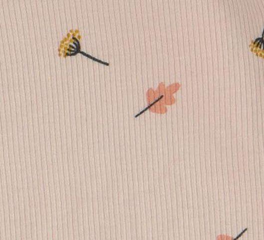 combinaison nouveau-né en bambou rose rose - 1000017638 - HEMA