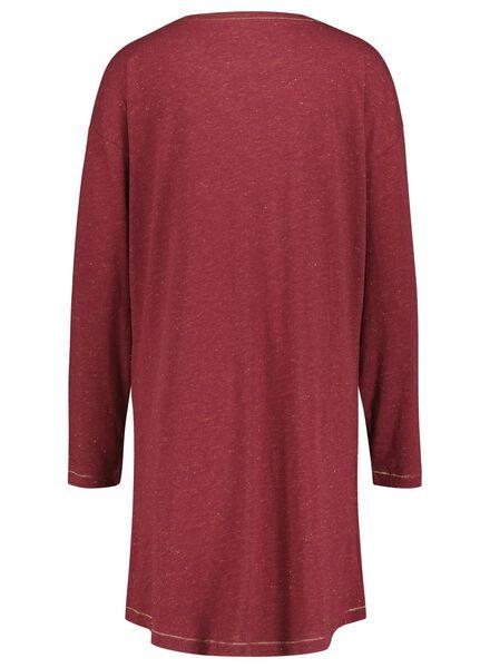 women's nightshirt red red - 1000017234 - hema