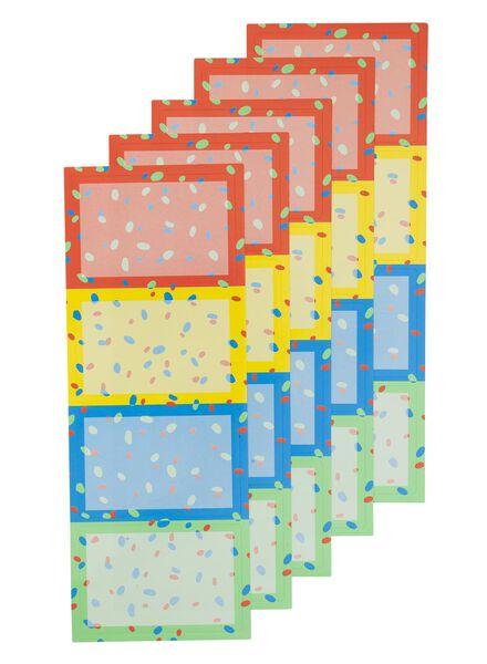 20er-Pack Etiketten - 14540551 - HEMA