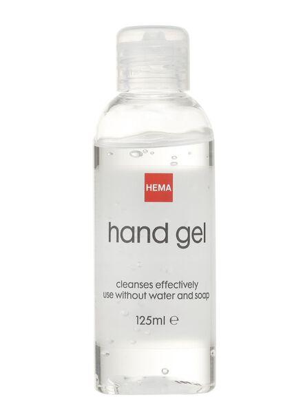 hand gel 125 ml - 11310325 - hema